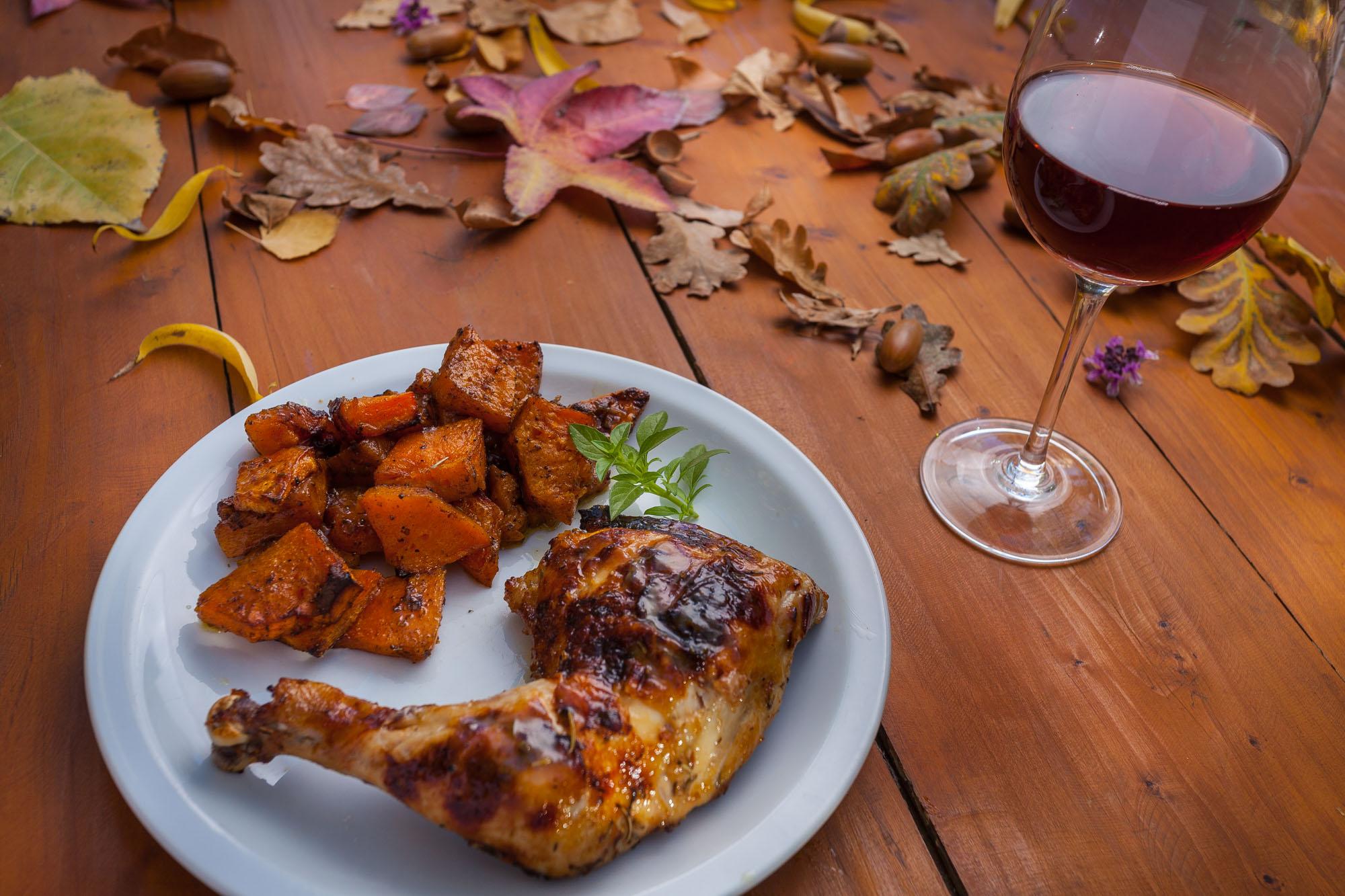 pollo al vino