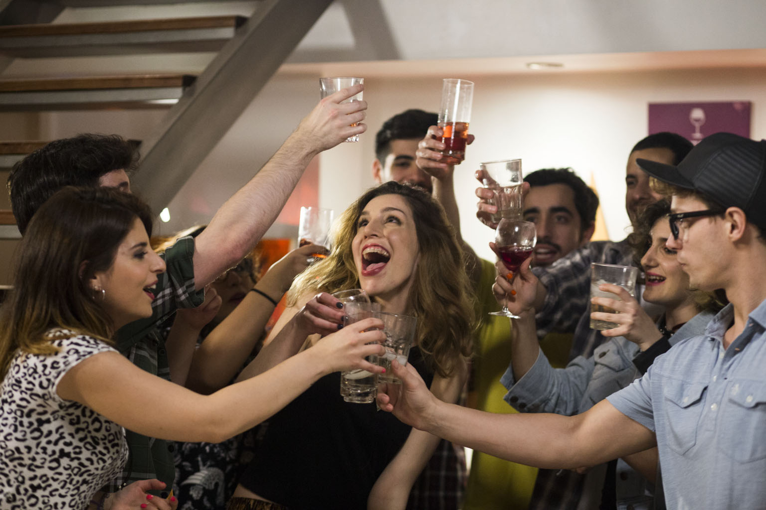 vino red social