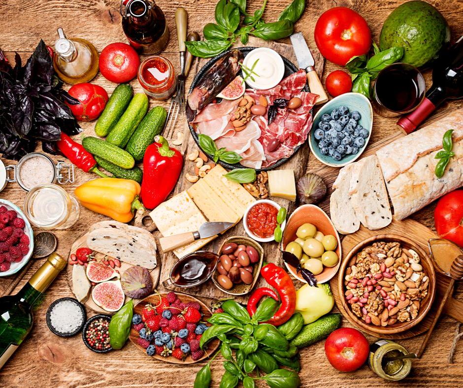 dieta mediterranea vino