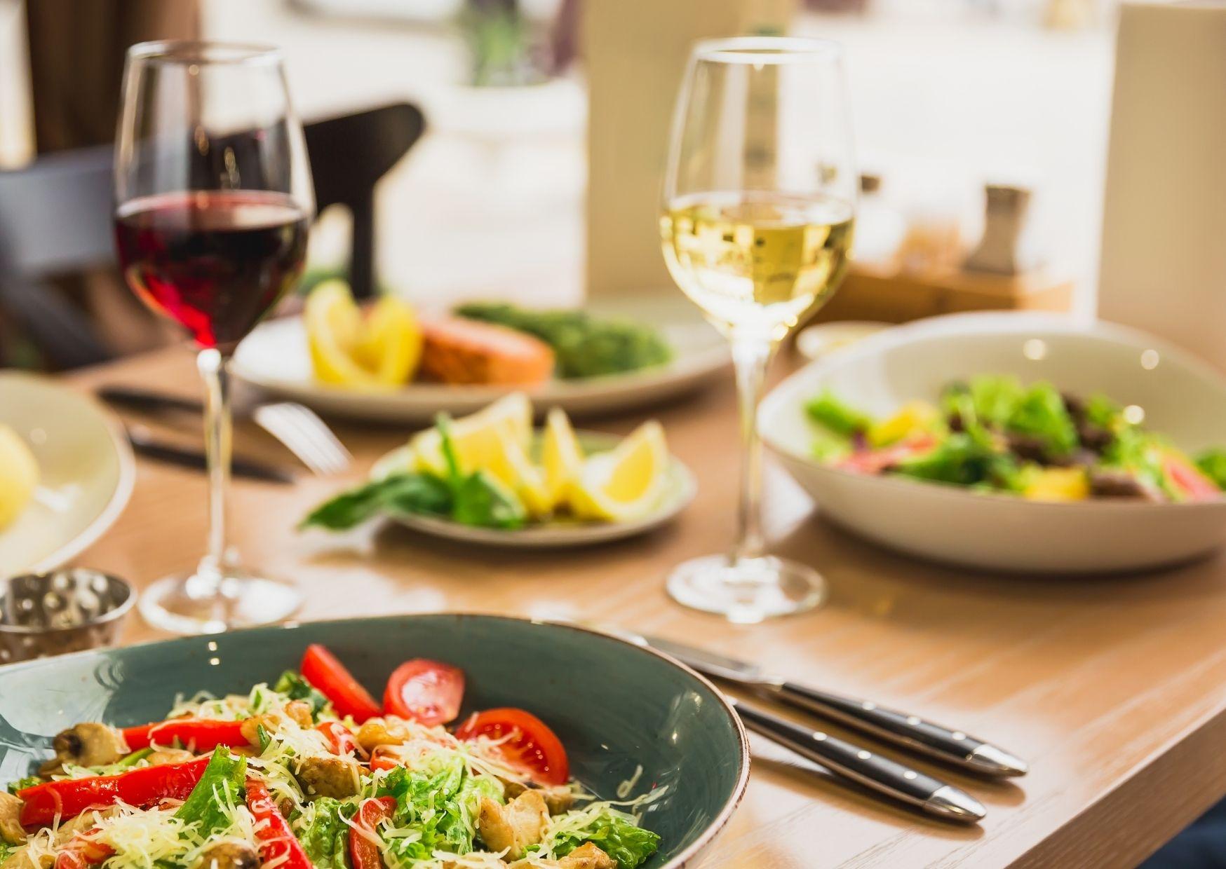 vino y habitos saludables
